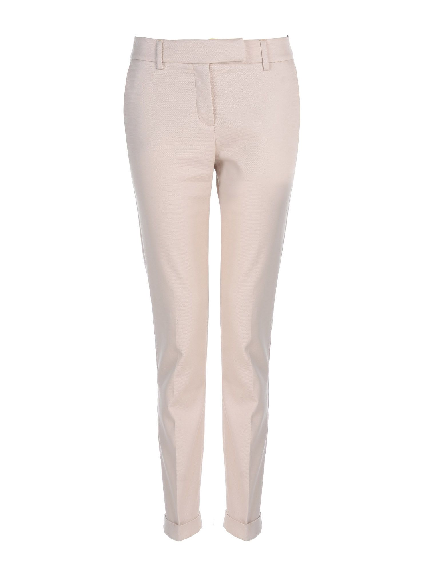 Stefanel Stretch Cotton Ny Trouser, White
