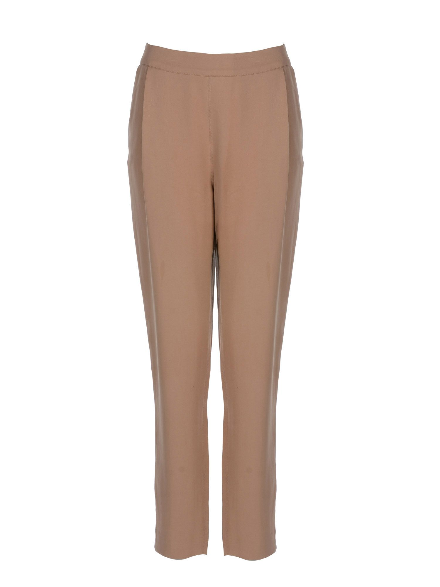 Stefanel Boyfriend Trouser, Brown