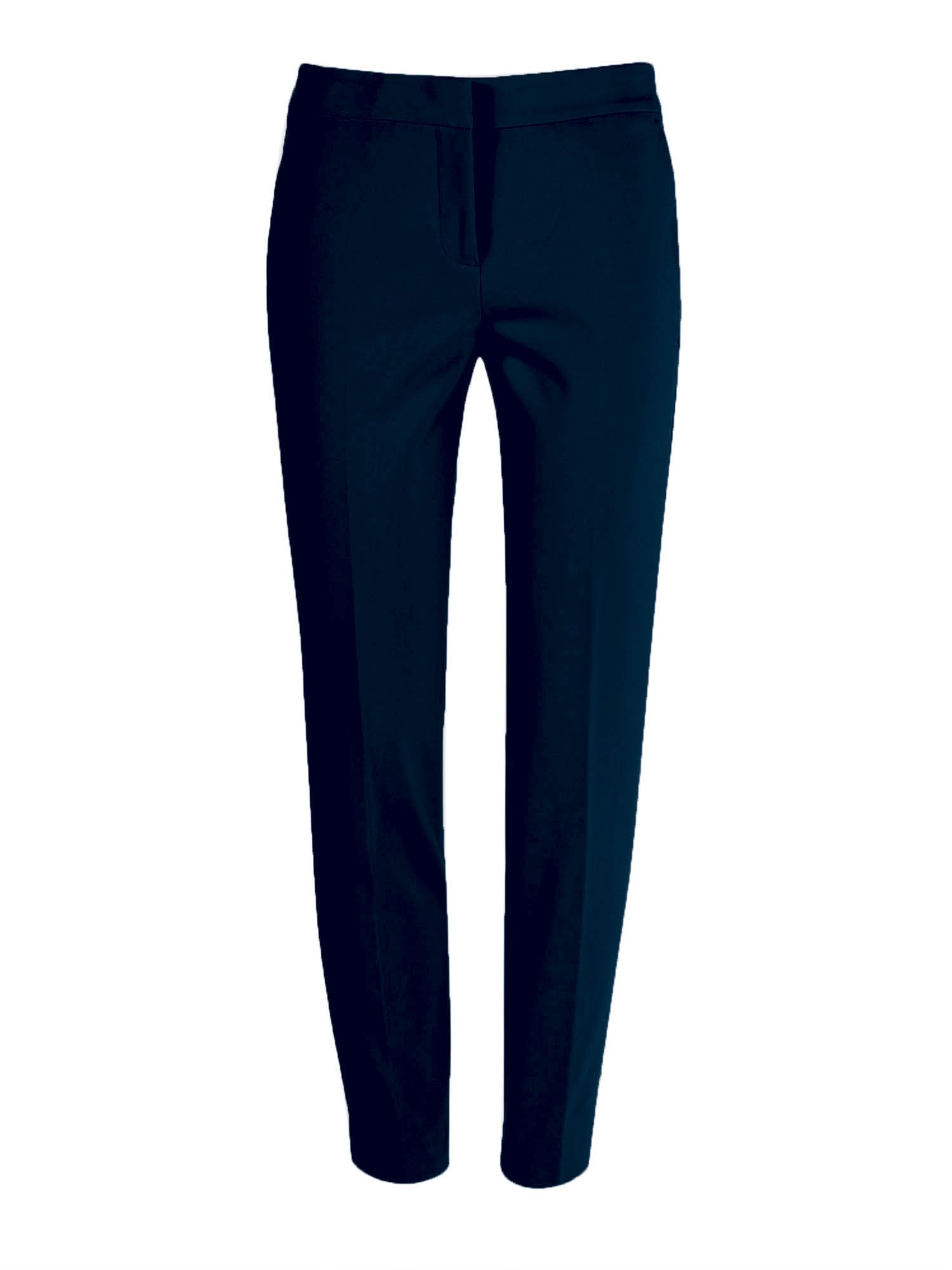 Stefanel Stretch Cotton Ny Trousers, Blue