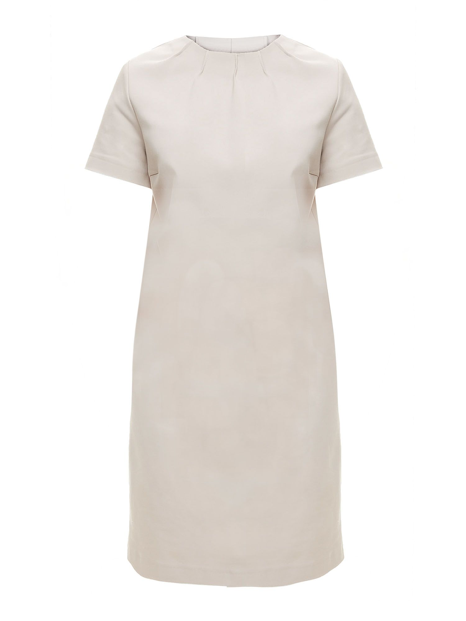 Stefanel Short-Sleeve Dress, White