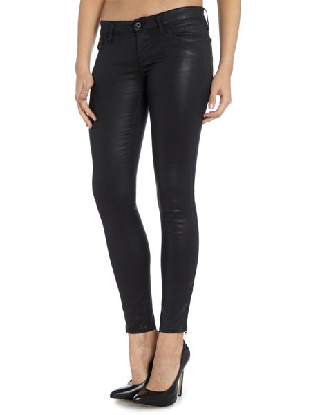 Diesel Skinzee low rise with ankle zip jean