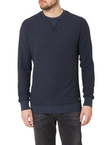 Diesel P-Lisse Regular Fit Textured Jumper