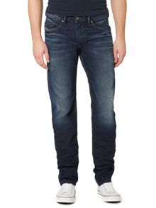 Diesel Belther 845A Tapered Fit Stretch Jeans