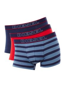 Diesel 3 Pack of Andre solid colour underwear