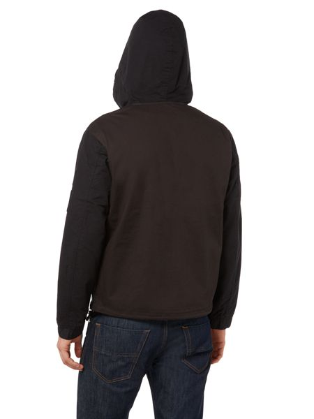 Diesel J-dan zip through hooded jacket