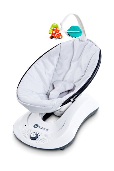 4Moms Rockaroo Classic Grey Baby Bouncer