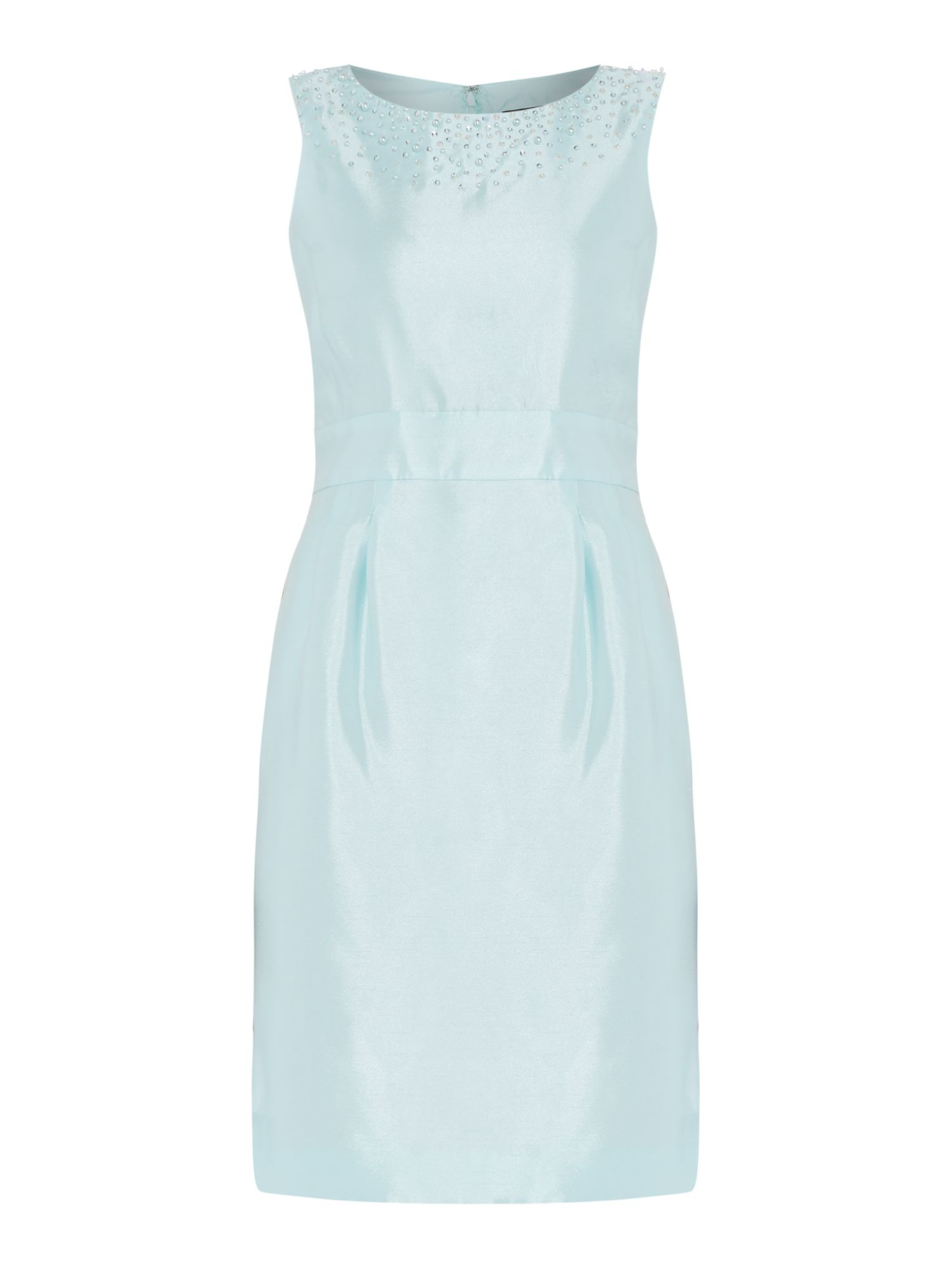 Tahari ASL Aqua blue summer dress, Aqua