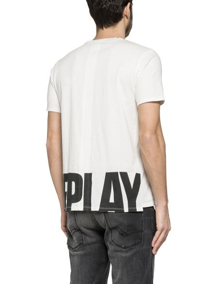 Replay Back-print t-shirt