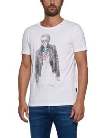Replay Illustration printed T-shirt