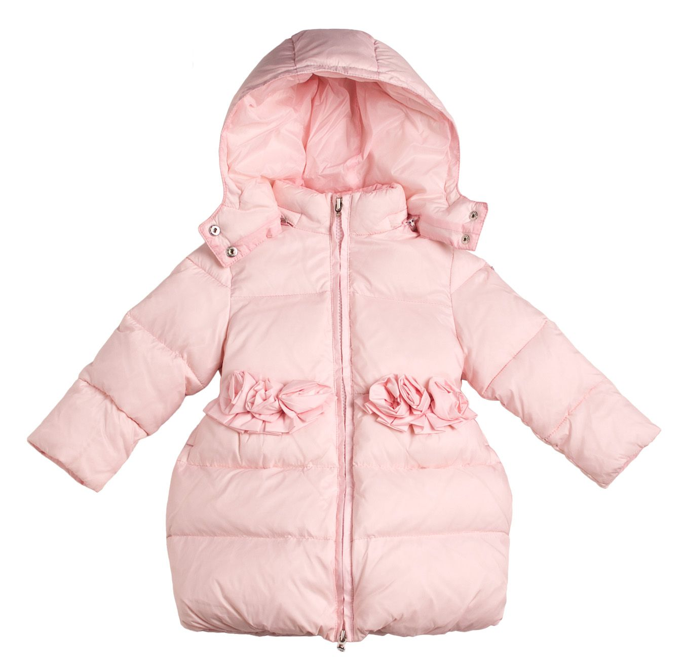 Girl`s glam padded coat