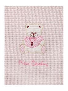 Pierre Cardin Baby girls toulouse blanket 110 x 80