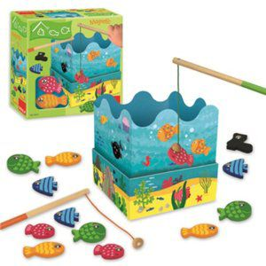 Goula Wooden Magnetic Fish Game