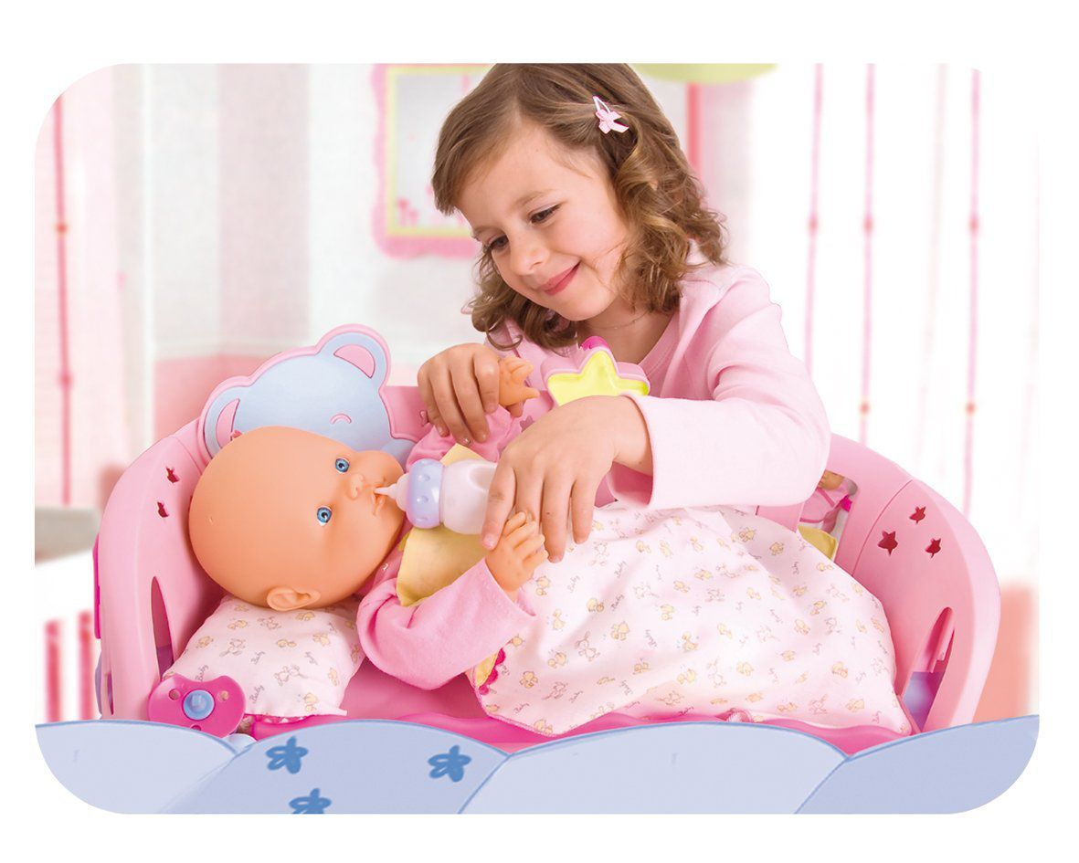 Nenuco Sleep with Me Doll and Cradle