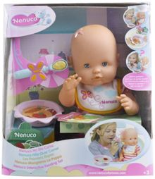 Nenuco doll learn to eat