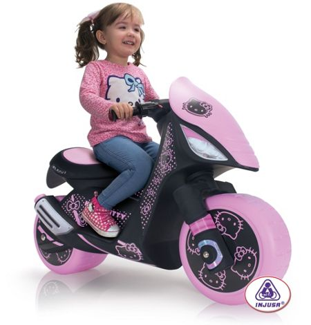 Injusa Hello Kitty Dragon Scooter 6 Volt