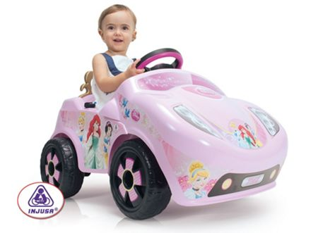 Injusa Disney Princess Car 6 Volt