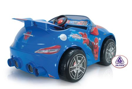 Injusa Ultimate Spider-Man REV Car 12 Volt