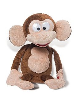 Fufris funny monkey soft toy