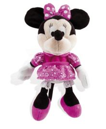 Minnie Mouse Happy Sounds Soft Toy