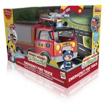 Mickey Mouse Emergency Fire Truck Vehicle with Mickey