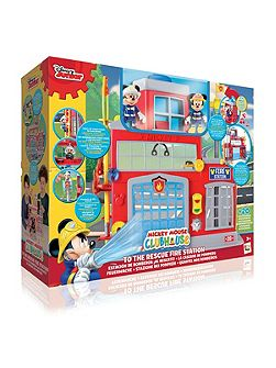 Clubhouse Fire Station Playset