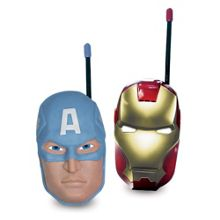 Marvel Avengers Iron man & Captain America Walkie Talkie