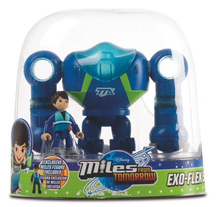 Disney Miles From Tomorrow Miles Figure with Exo-Flex Suit