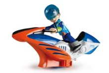 Disney Miles From Tomorrow Hoverbike Vehicle and Miles Figure