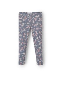 Mango Girls floral print leggings