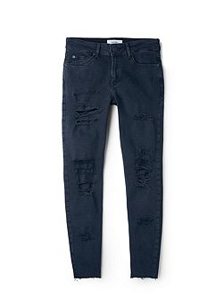 Cropped skinny Isa jeans