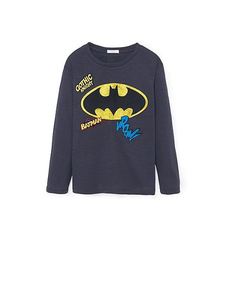 Mango boys superhero t shirt charcoal house of fraser Boys superhero t shirts
