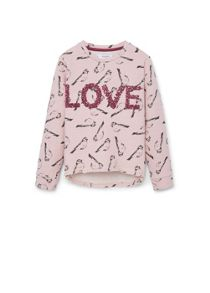 Girls Message Cotton sweatshirt