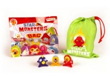 Star Monster Series 1 3 Pack with Bag
