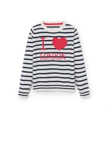 Girls Stripe pattern sweater