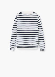 Mango Girls Stripe pattern sweater