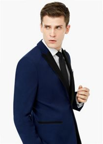 Mango Slim-fit suit blazer