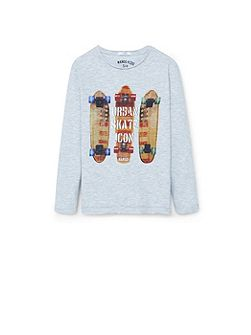 Mango Boys printed t-shirt