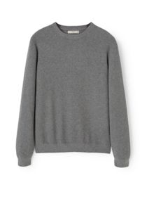 Mango Cotton cashmere-blend sweater