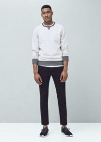 Mango Slim-fit black jan jeans