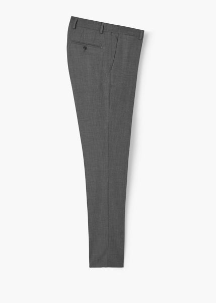 Mango Patterned suit trousers