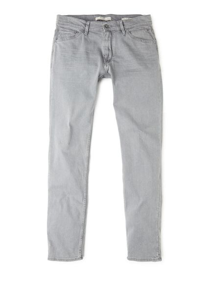 Mango Slim-fit grey jeans