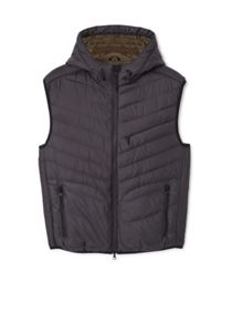 Mango Hooded Quilted Gilet