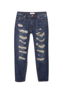 Mango Relaxed crop Nancy jeans