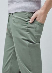 Mango 5 Pocket Garment-dyed Trousers