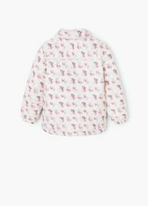 Mango Girls Hooded water-repellent quilted jacket