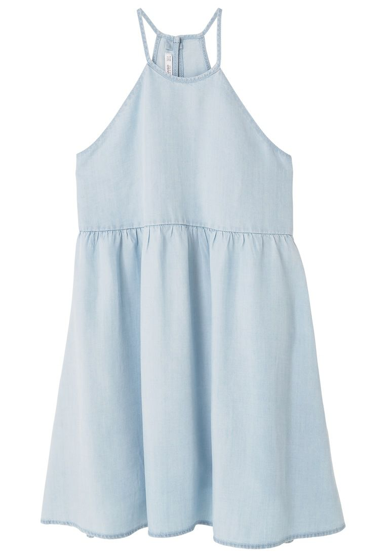 Mango Soft dress, Blue