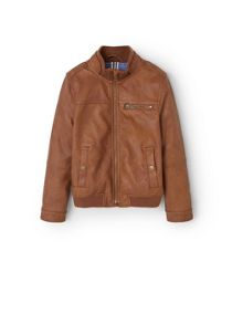 Mango Boys Zipped biker jacket