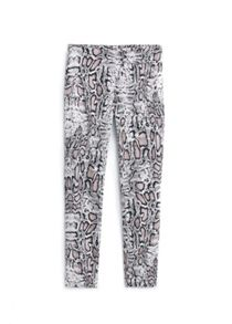 Mango Snake pattern trousers