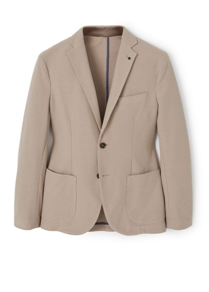 Mango Structured cotton blazer