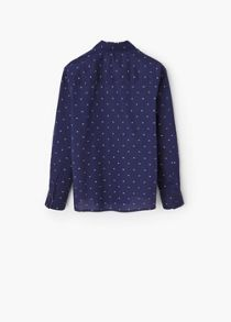 Mango Boys Printed Cotton shirt